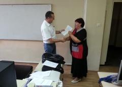 """Dodeljeni sertifikati Programa stalnog stručnog usavršavanja nastavnika srednjih škola - """"Moodle servis za E-učenje"""""""