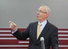 Ambasador SAD-a održao predavanje na Univerzitetu Privredna akademija