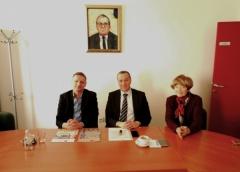 Na Univerzitetu Privredna akademija i Fakultetu za ekonomiju i inženjerski menadžment održan sastanak sa predstavnicima Poljoprivredno-prehrambenog fakulteta Univerziteta u Sarajevu